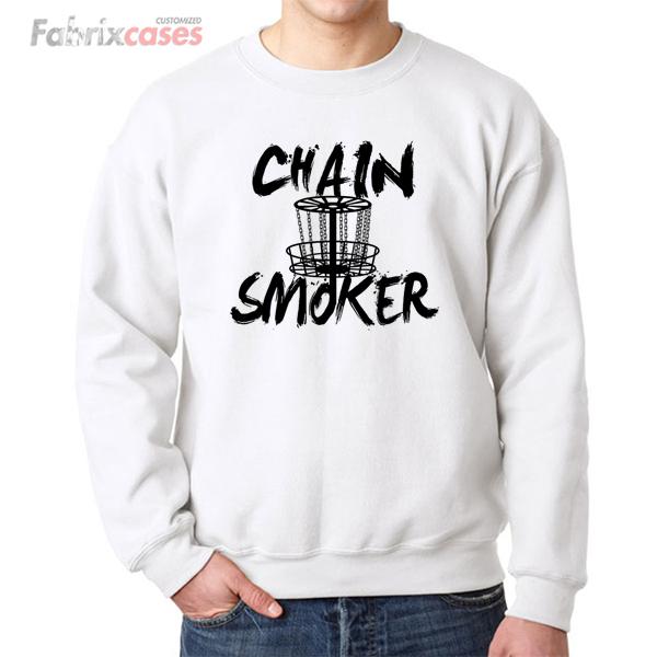 Chain Smoker Fairground Ride sweatshirt