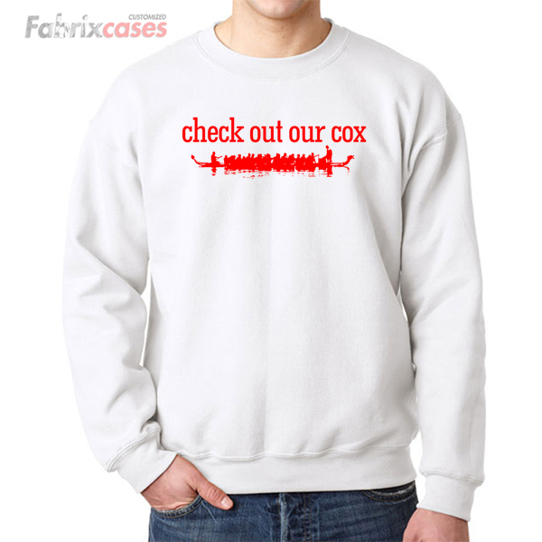 Check Out Our Cox sweatshirt