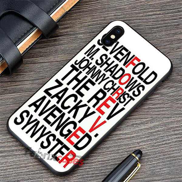 Quotes Avenged Sevenfold iPhone Cases Samsung Phone Case