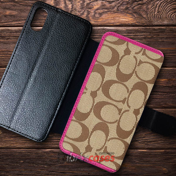 low priced a28ff faeae Coach Wallet Cases Wallet Samsung iPhone Case