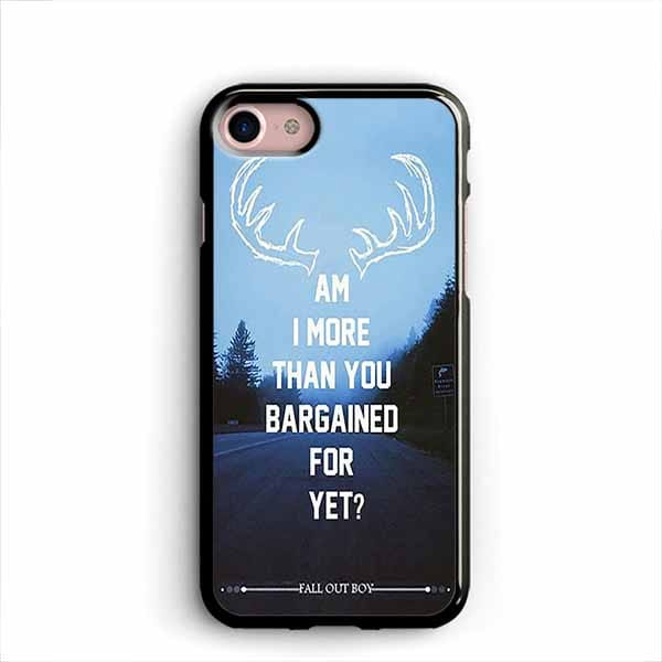 low priced 3330a 48adc Fall Out Boy Quotes iPhone Cases Samsung Phone Case