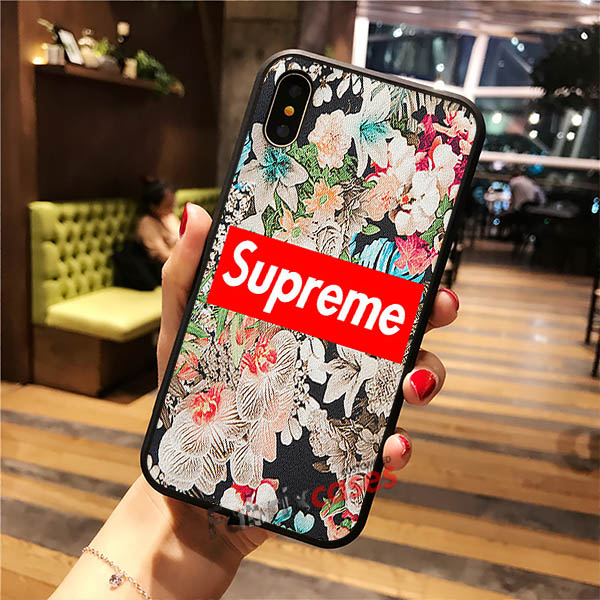 competitive price d24e3 5c613 Floral Supreme iPhone Cases Samsung Phone Case