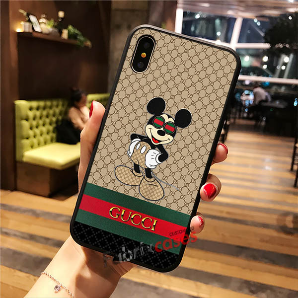 Gucci Mickey Mouse iPhone Cases Samsung Phone Case