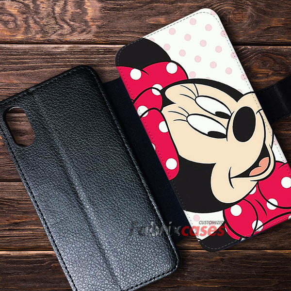 new product 84750 c4788 Minnie Mouse Cases Wallet Samsung iPhone Case