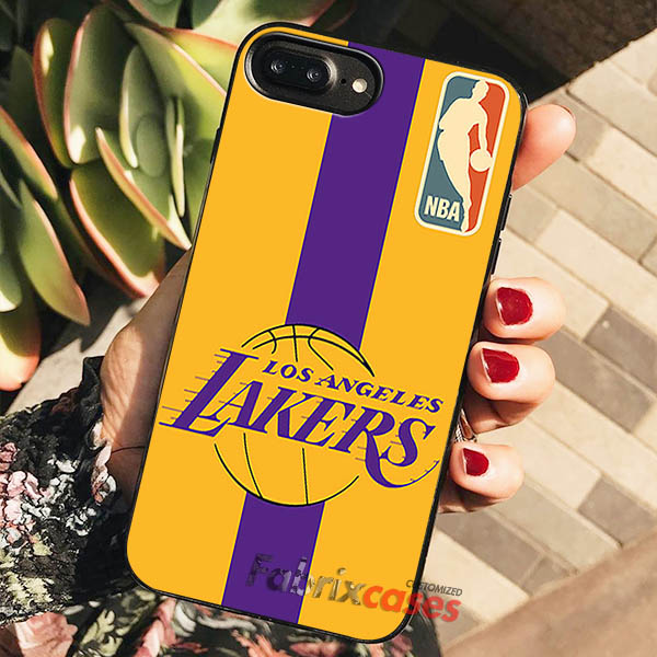 finest selection 7b6b0 9137f NBA Lakers iPhone Cases Samsung Phone Case